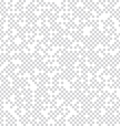 mosaic square pixel theme pattern background vector image vector image