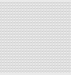 White plastic construction plate - semless vector