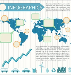An infographics vector image