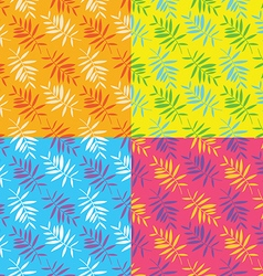 Seamless summer patterns vector