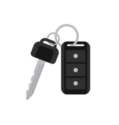 Car keys with remote vector