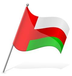 flag of Oman vector image vector image
