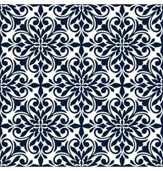 Ornamental floral decorative pattern background vector