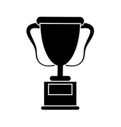 Trophy award sport pictogram vector