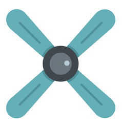 Propeller icon isolated vector