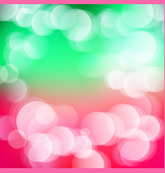 Abstract defocused bokeh lights background vector