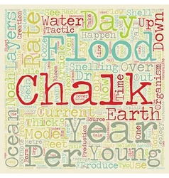 Chalk and noah s flood text background wordcloud vector