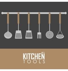 Kitchen tools set vector image