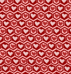 Love graphics pattern vector image