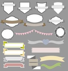 Vintage styled design banner vector image