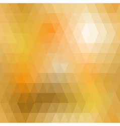Yellow mosaic seamless vector image vector image