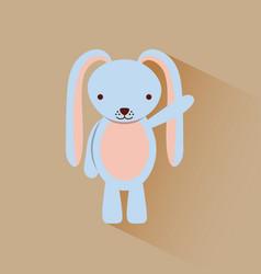 Cute rabitt bunny image vector