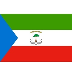 Flag of equatorial guinea correct dimension vector