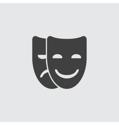 Mask icon vector image