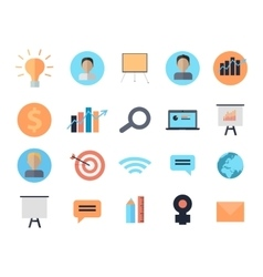 Set of icons of time management digital devices vector