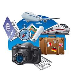 Tourism vector