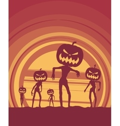 Halloween holiday poster vector