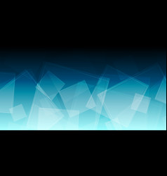 Blue abstract geometric background vector