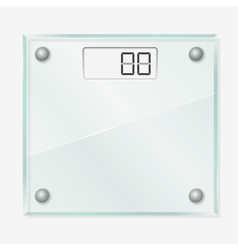 Glass scales vector