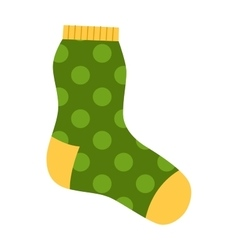 Sock icon vector