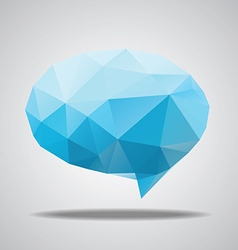 bright speech cloud and blobs vector image vector image