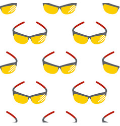 fashion sunglasses accessory sun spectacles vector image vector image