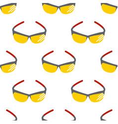 fashion sunglasses accessory sun spectacles vector image