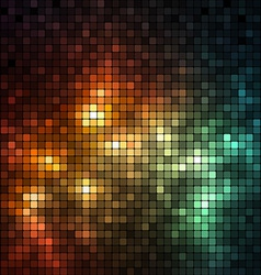 Shiny Mosaic Background vector image