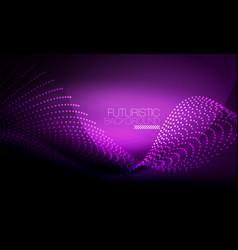 Smooth neon wave vector