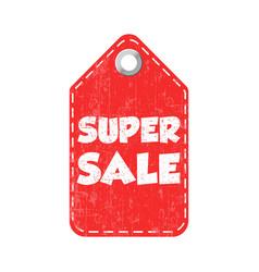 Super sale hang tag vector