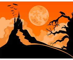Halloween holiday graphic template flat icons vector