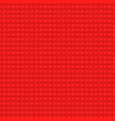Red plastic construction plate - semless vector