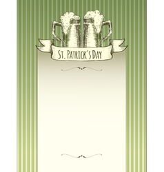 Patrick s day vector image