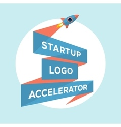 Concept design for start up project with vector