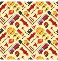 Firefiters pattern vector