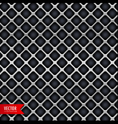 metal texture background design vector image vector image