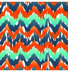 Vibrant chevron pattern Spring zig zag pattern vector image vector image