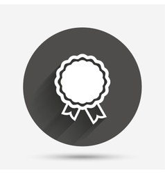 Award icon best guarantee symbol vector