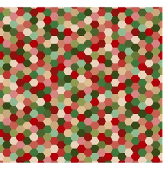 Seamless hexagonal pattern vector