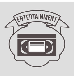 Entertainment concept design vector