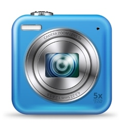 Easy camera icon vector