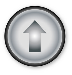 Push up button vector