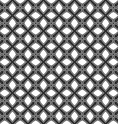 Seamless pattern from crosses endless geometric vector