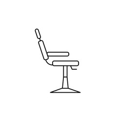 Barber chair icon vector