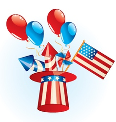 4th July Independence Day vector image vector image