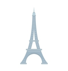 Eiffel tower paris france landmark architecture vector