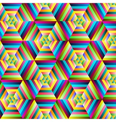 Abstract colorful geometrical background vector image vector image