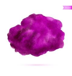 Abstract watercolor splash vector image vector image