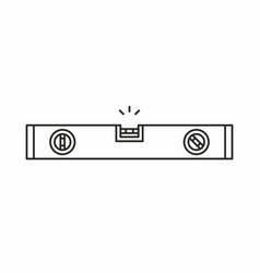 bubble level icon vector image