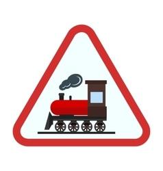 Railway sign vector